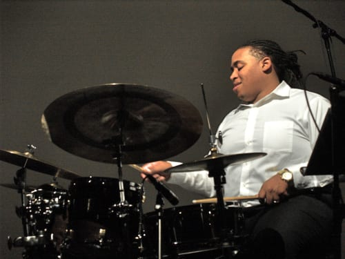 2012 Monk Competition winner Jamison Ross performed earlier this month at the KC Jazz Club. Courtesy hardbopjazzjournal.wordpress.com
